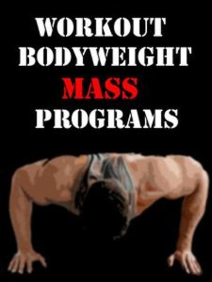 Workout Bodyweight Mass Programs - cover