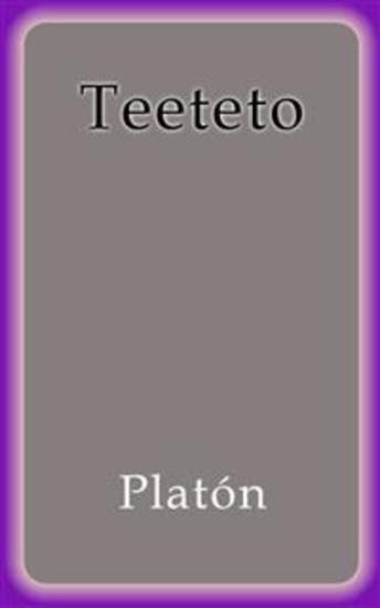 Teeteto - cover