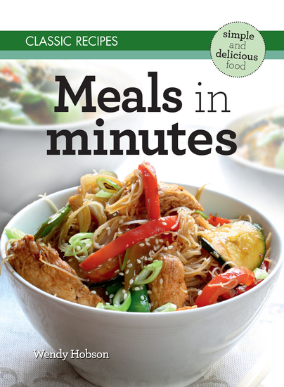 Classic Recipes: Meals in Minutes - cover