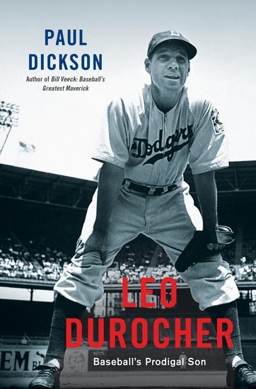 Leo Durocher - Baseball's Prodigal Son - cover