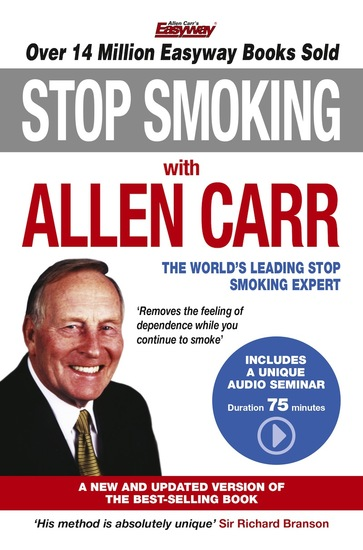 Stop Smoking with Allen Carr - Plus a unique 70 minute audio seminar delivered by the author - cover