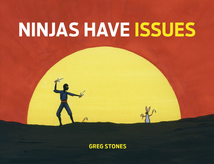 Ninjas Have Issues - cover