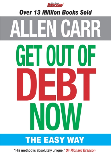 Allen Carr's Get Out of Debt Now - cover