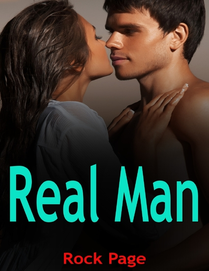 Real Man - cover