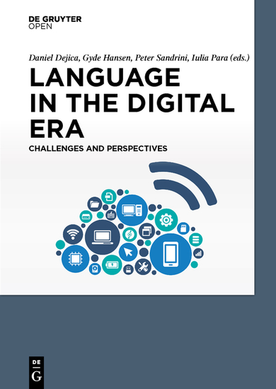 Language in the Digital Era Challenges and Perspectives - cover