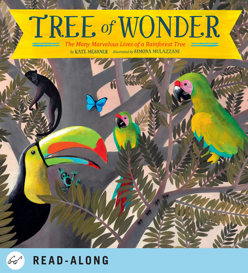 Tree of Wonder - The Many Marvelous Lives of a Rainforest Tree - cover