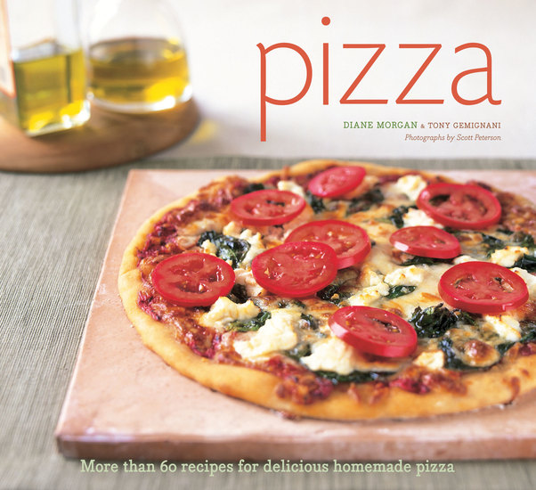 Pizza - More than 60 Recipes for Delicious Homemade Pizza - cover