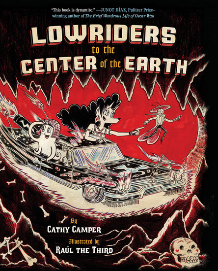 Lowriders to the Center of the Earth - cover
