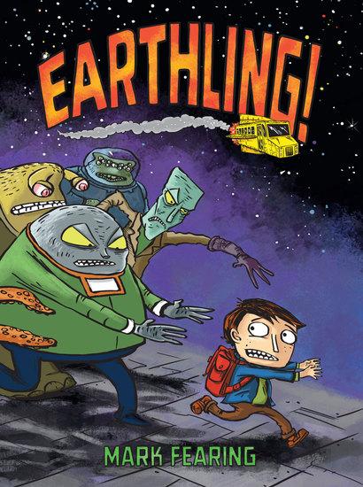 Earthling! - cover