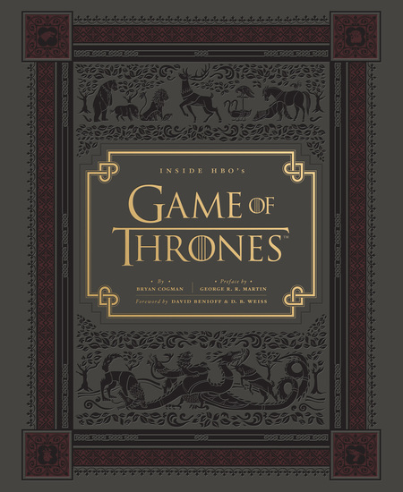 Inside HBO's Game of Thrones - Seasons 1 & 2 - cover
