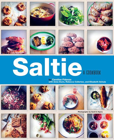 Saltie - A Cookbook - cover
