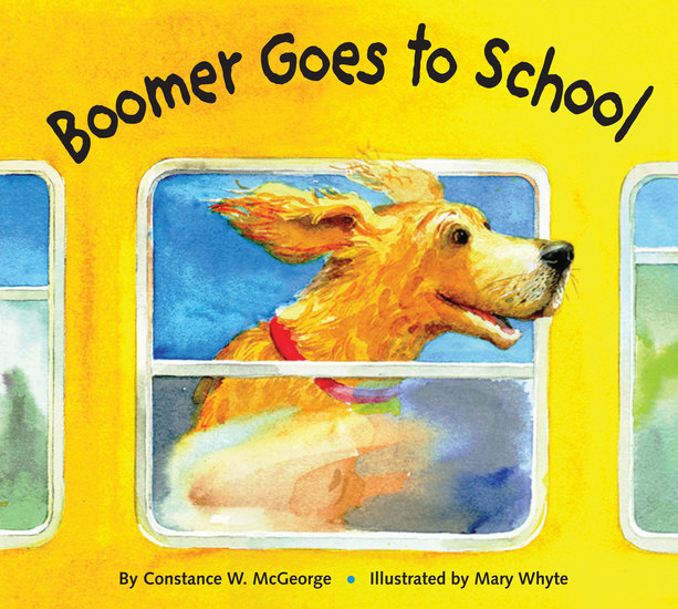 Boomer Goes to School - cover