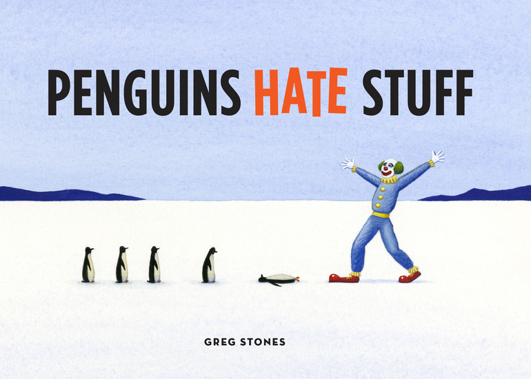 Penguins Hate Stuff - cover