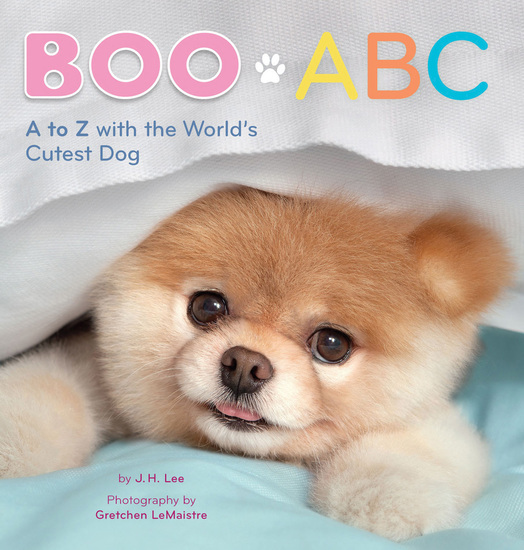 Boo ABC - A to Z with the World's Cutest Dog - cover