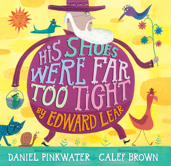 His Shoes Were Far Too Tight - Poems by Edward Lear - cover