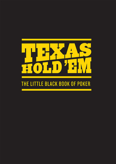 Texas Hold 'Em - The Little Black Book of Poker - cover