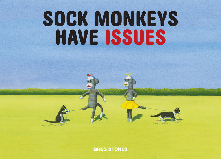 Sock Monkeys Have Issues - cover