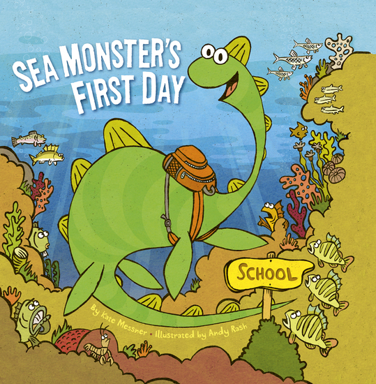 Sea Monster's First Day - cover