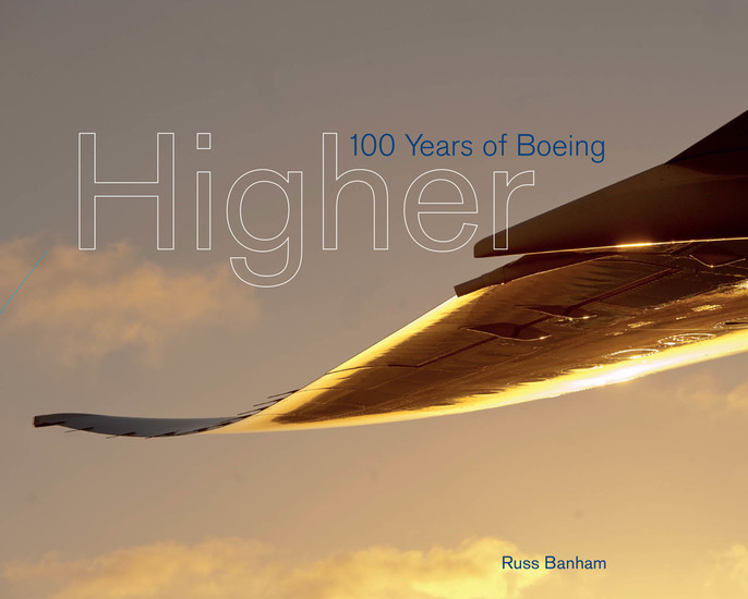 Higher - 100 Years of Boeing - cover