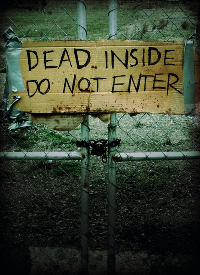 Dead Inside: Do Not Enter - Notes from the Zombie Apocalypse - cover
