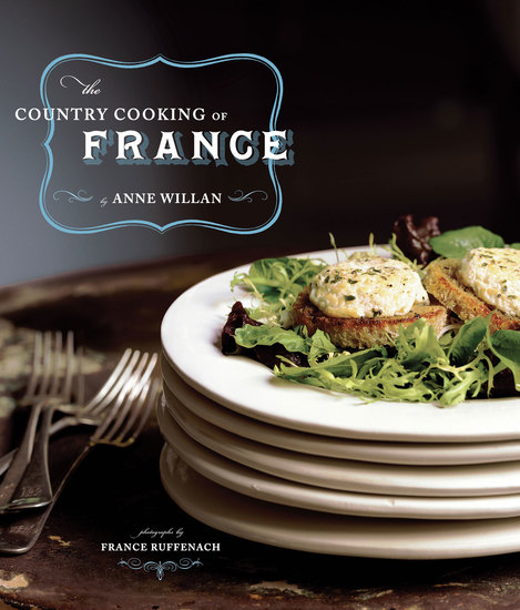 The Country Cooking of France - cover