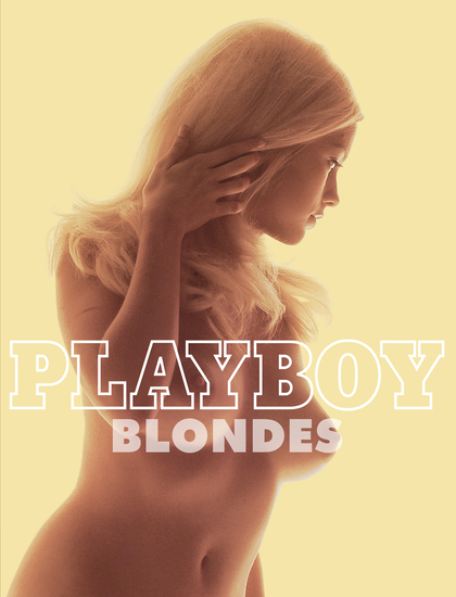 Playboy: Blondes - cover