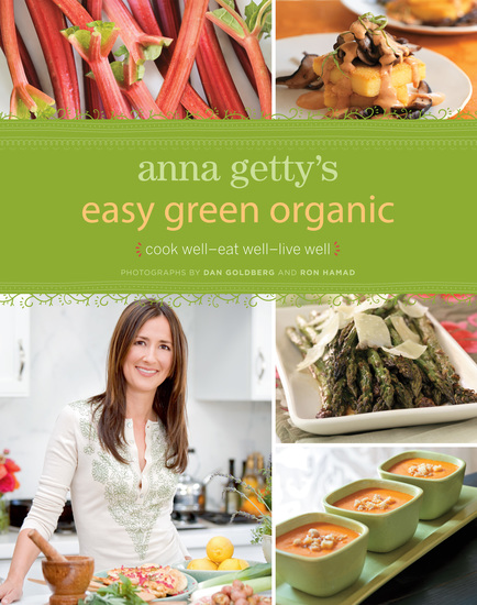 Anna Getty's Easy Green Organic - cover