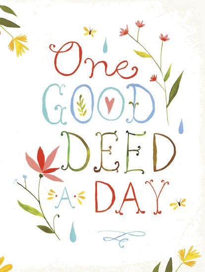 One Good Deed a Day - cover