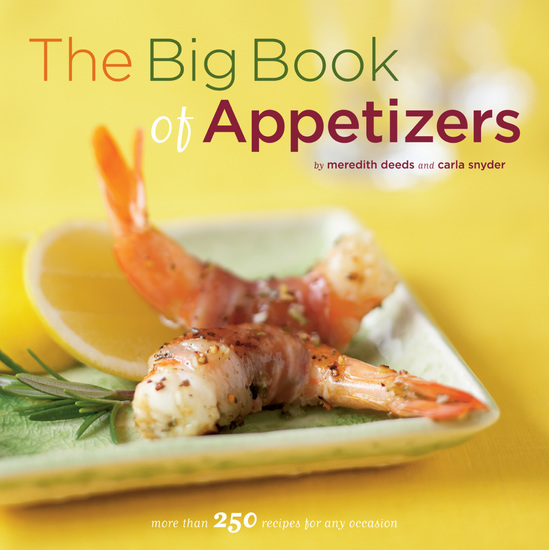 The Big Book of Appetizers - More than 250 Recipes for Any Occasion - cover