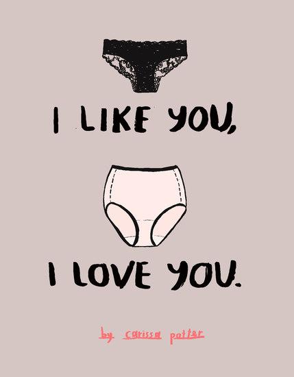I Like You I Love You - cover