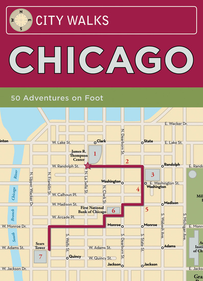City Walks: Chicago - 50 Adventures On Foot - cover