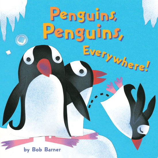 Penguins Penguins Everywhere! - cover
