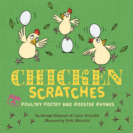 Chicken Scratches - Poultry Poetry and Rooster Rhymes - cover