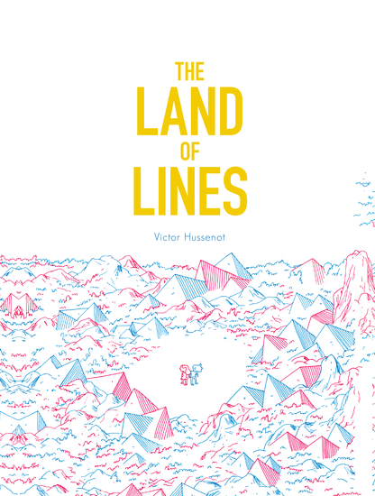 The Land of Lines - cover