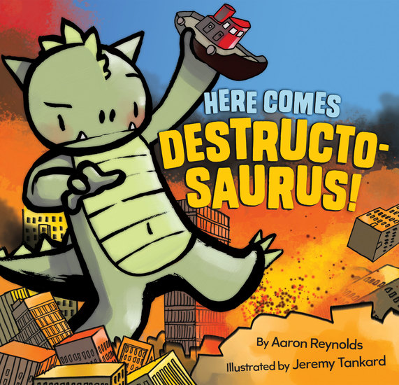 Here Comes Destructosaurus! - cover