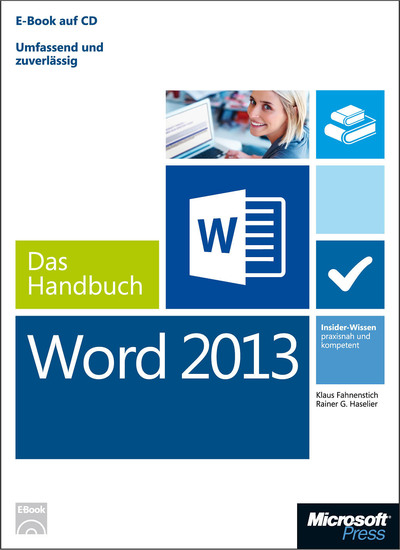 Microsoft Word 2013 - Das Handbuch - Insider-Wissen - praxisnah und kompetent - cover