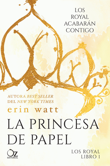 La princesa de papel - cover