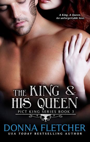 The King & His Queen - Pict King Series #3 - cover