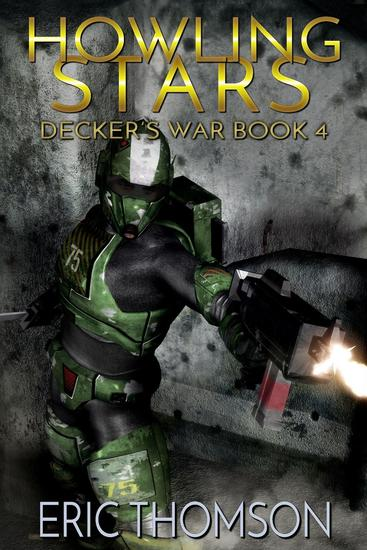 Howling Stars - Decker's War #4 - cover