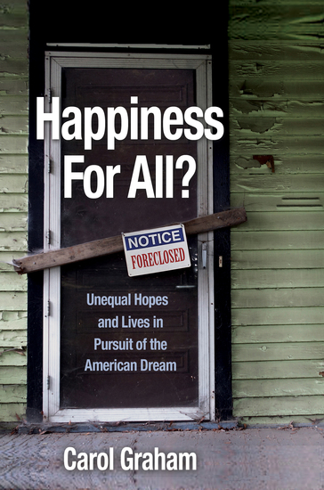 Happiness for All? - Unequal Hopes and Lives in Pursuit of the American Dream - cover