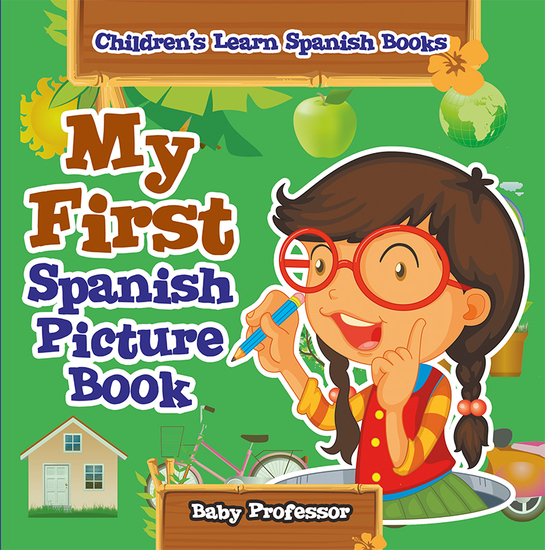 My First Spanish Picture Book | Children's Learn Spanish Books - cover
