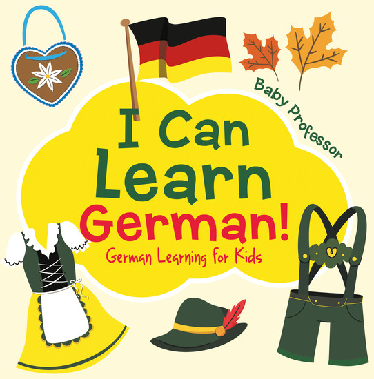 I Can Learn German! | German Learning for Kids - cover