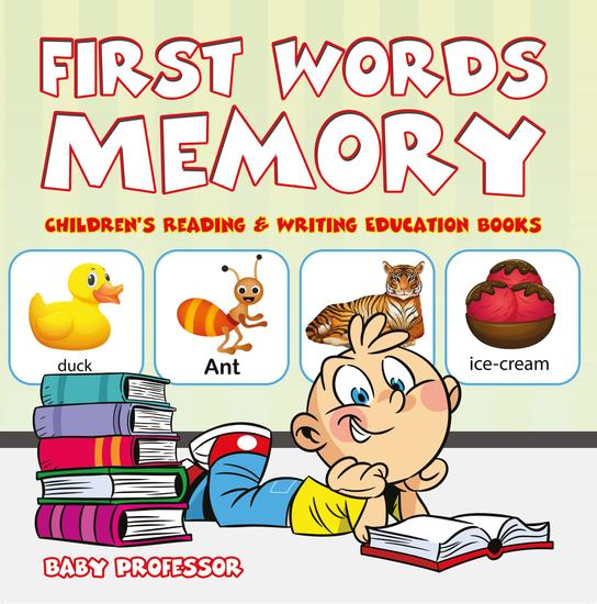 First Words Memory : Children's Reading & Writing Education Books - cover