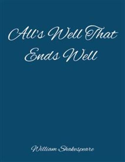 All's Well That Ends Well - cover