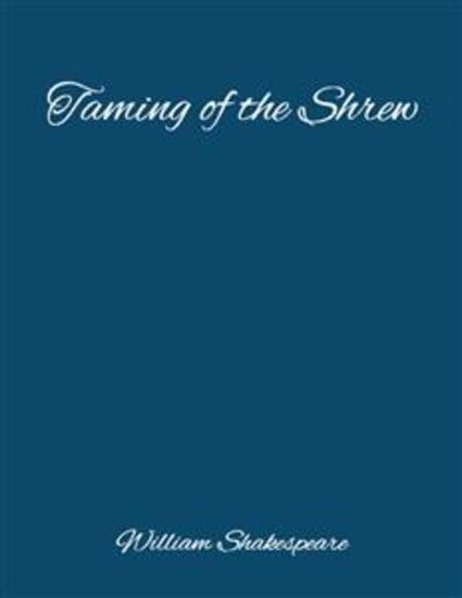 The Taming of the Shrew - cover