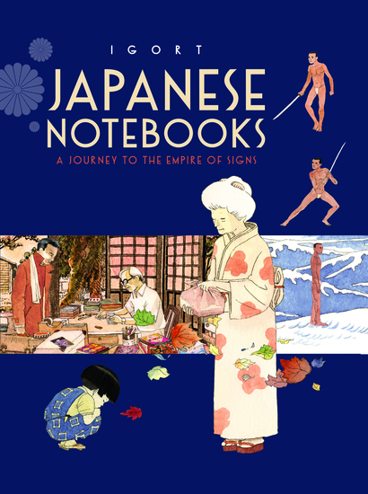 Japanese Notebooks - A Journey to the Empire of Signs - cover