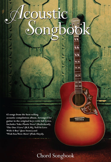 Acoustic Songbook: Chord Songbook - cover