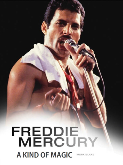 Freddie Mercury: A Kind of Magic - cover