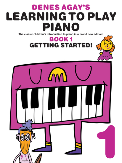 Denes Agay's Learning To Play Piano: Book 1 - cover