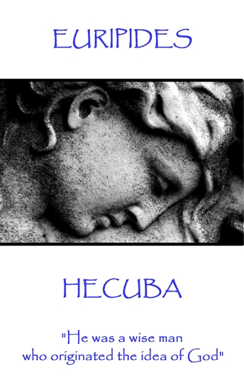 """Hecuba - """"He was a wise man who originated the idea of God"""" - cover"""